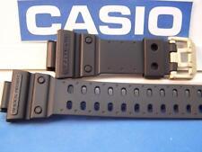 Casio Watch Band GXW-56 GB-1V. G-Shock Mud Resist Blk Rub Strap.Gold tone buckle