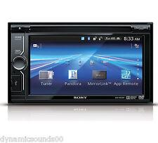 Autoradio e frontalini da auto Sony doppio DIN con ingresso AUX
