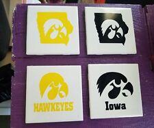 Iowa Hawkeyes Coaster set