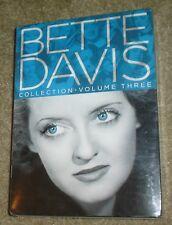 Bette Davis Collection - Volume 3 (DVD, 2012, 6-Disc Set), NEW & SEALED, RARE!