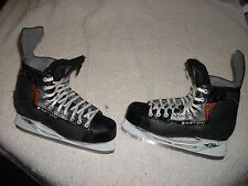 EASTON EQ REFLEX ICE HOCKEY SKATES SIZE MENS 11 NICE SHAPE,PLENTY OF LIFE LEFT