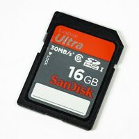 SanDisk - Ultra 16GB 30MB/s - SDHC Card
