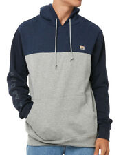 NEW +TAG BILLABONG MENS XL TRILOGY POP HOODIE HOODED FLEECE JUMPER PULLOVER NAVY