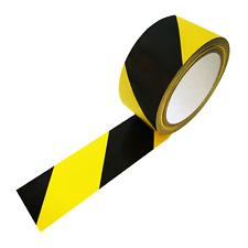 (0,08€/1m) 66m Meter (!) Bodenmarkierungsband / Klebeband Warnband gelb/schwarz
