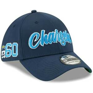 SAN DIEGO CHARGERS EST 1960 NEW ERA HAT 39THIRTY FITTED NFL FOOTBALL TEAM CAP