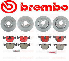 NEW BMW E39 M5 2000-2003 Set of Front and Rear Disc Brake Rotors and Pads