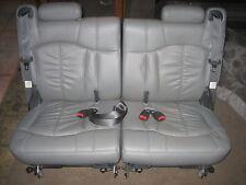 2000 - 2006 Tahoe Yukon Suburban Gray Leather Third 3rd Row Seats
