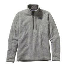 New Patagonia Mens Large L Better Sweater Fleece 1/4 Zip Jacket Pullover Gray