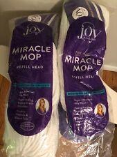 (2) Joy Mangano Miracle Mop Refill packs - NEW
