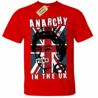 Kids Boys Girls Anarchy in The UK Punk Rock rotten T-Shirt