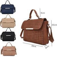 New Womens Designer Style Shoulder Handbag Girls Cross Body Bag