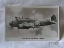 VALENTINE'S POST CARDS BEAUFORTS OF THE COASTAL COMMAND