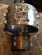 Vintage 60's Ludwig BLUE OYSTER 22 Bass & 13 Tom for your drum set!