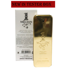 Paco Rabanne 1 Million Absolutely Gold Pure Perfume for Men 3.4 Oz 100ml Tester