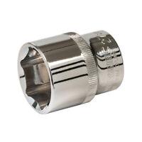 "Silverline Socket 1/2"" Drive Metric Hex 27mm Chrome Vanadium Plummer Mechanic"