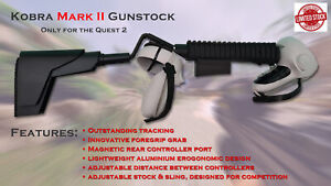 Kobra Mark II gunstock for Quest 2 VR controllers
