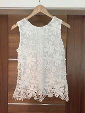 Gorgeous White Lace Select Blouse! Size 6
