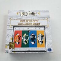 Harry Potter Puzzle House Crests 300-Piece Jigsaw NEW