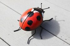 Stunning Hand Crafted Primus Metal 3D Giant Ladybird Wobbler Insect Wall Art