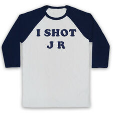 FATHER TED I SHOT JR IRISH COMEDY TV SHOW AS WORN BY 3/4 SLEEVE BASEBALL TEE