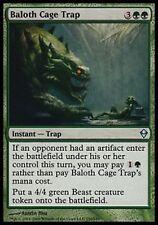 *MRM* FR 4x Piège à cage de baloth (Baloth Cage Trap )  MTG Zendikar