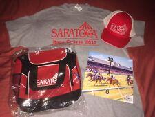 2017 Saratoga Giveaways Complete Set, Hat, Shirt, Cooler, Clock