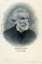* GIUSEPPE VERDI - 10 Ottobre 1813-27 Gennaio 1901, Alterocca Terni