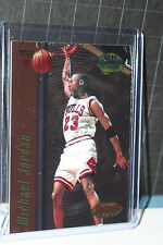 1997-98 Bowmans Best Techniques # T-2 Michael Jordan Sharp ! Chicago Bulls