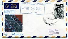 FFC 1973 Lufthansa Special Flight LH 472/473 Frankfurt Montreal Merida Mexico