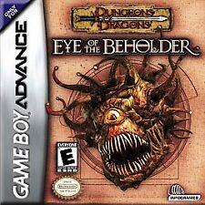 Dungeons & Dragons: Eye of the Beholder (Nintendo Game Boy Advance, 2002)