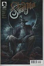 The Steam Man #2 comic book Steampunk Time Machine Morlocks Martians Vampire