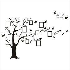 Family Tree Decor For Wall family tree birds & birdhouses large décor wall decals art | ebay