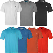 DUNLOP Herren Polo Shirt PLAIN Polohemd T-Shirt Golf Freizeit S M L XL 2XL 3XL