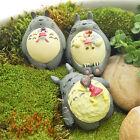 Studio Ghibli Mei Lying On My Neighbor Totoro Resin Figure Landscape Doll Garden