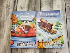2 Rachel Yoder Series Books - Just Plain Foolishness & Out of Control Wanda