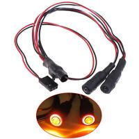 2LED RC 4.2v-6v Light Headlight headlamps Devil eyes For 1/10 RC Crawler SCX10