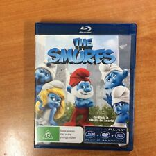 The Smurfs - Triple Play -  Blu-ray - Excellent Condition