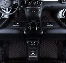 FIT 2005-2021 Mercedes-Benz all models luxury waterproof car floor mats