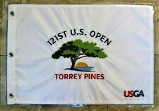 1 - 2021 US OPEN @ TORREY PINES CC, Official, EMBROIDERED Golf Pin FLAG