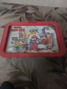 Super Mario Bros Tv Tray Used