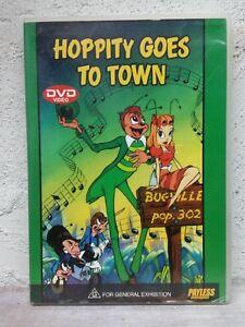 HOPPITY GOES TOWN - DVD - 1941 Dave Fleischer - Mr. Bug - RARE ANIMATION !