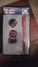 Nebraska Huskers Gift Set Pen Key Chain New
