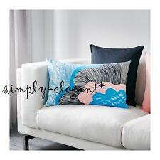 "2 NEW IKEA Doftranka Decorative Cushion Covers Pillow Covers 16x26"" 100% Cotton"