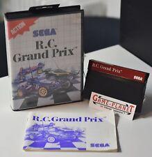 R.C. GRAND PRIX  SEGA Master System OVP mit Anleitung Sammlung