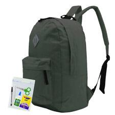 Everyday Deal 169 Nylon Waterproof School Backpack (Grey)FREE School Supplies SL