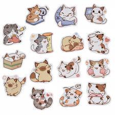 45pcs Kawaii Scrapbooking Stickers Mixed Cute Japanese Cat Set Decor Scrapbook