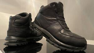 NIKE ZOOM Retro AIR MAX GOADOME Leder Schuhe BOOTS Classic SCHWARZ Gr. 44,5