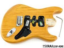 Fender American Ultra Stratocaster Strat BODY + HARDWARE USA Natural Ash $10 OFF
