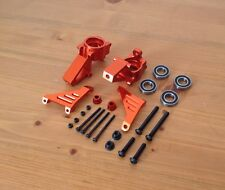 HPI BAJA  ALLOY FRONT STEERING KNUCKLES ORANGE FOR HPI BAJA 5B 5T 5B2.0,KM,ROVAN