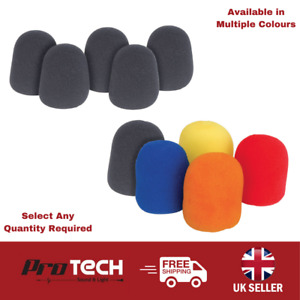 UK Dynamic Microphone Shield Windshield Foam Covers in Various Colours